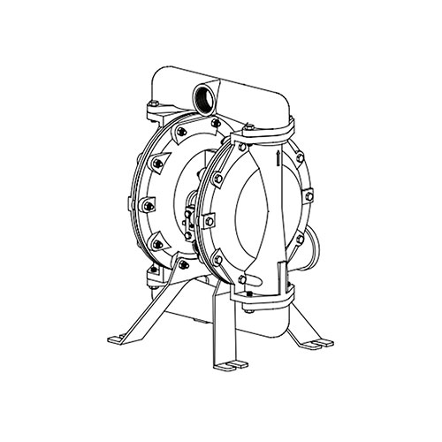 "Ingersoll Rand 1-1/2"" Diaphragm Pump - 650718-C"