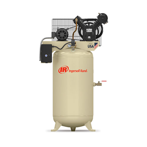 Ingersoll Rand 7.5HP 80 Gallon Vertical Air Compressor - 2475N7.5-V
