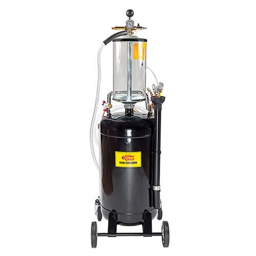 John Dow Industries 20-Gallon Fluid Evacuator with Bowl - JDI-20EV-B