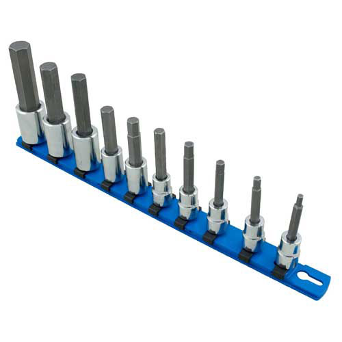 "Martin 3/8"" & 1/2"" Metric Hex Bit Socket Set - BC10KM"