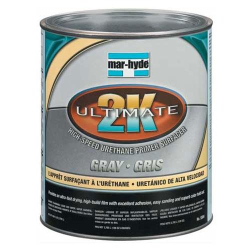 3M Mar-Hyde Ultimate 2K High Speed Urethane Primer Surfacer - Gray - 5564