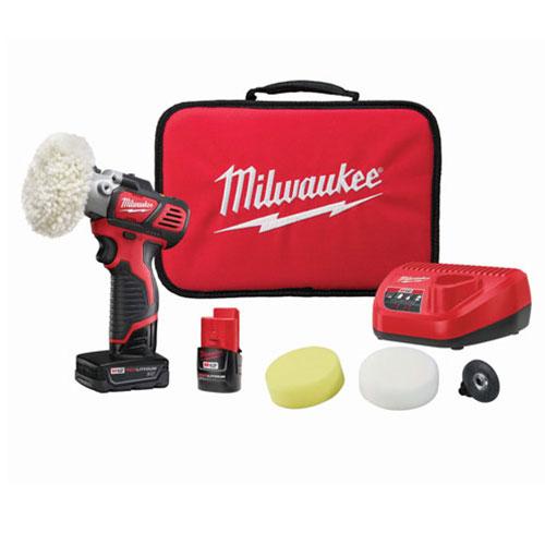 Milwaukee M12 Variable Speed Polisher/Sander Kit - 2438-22X