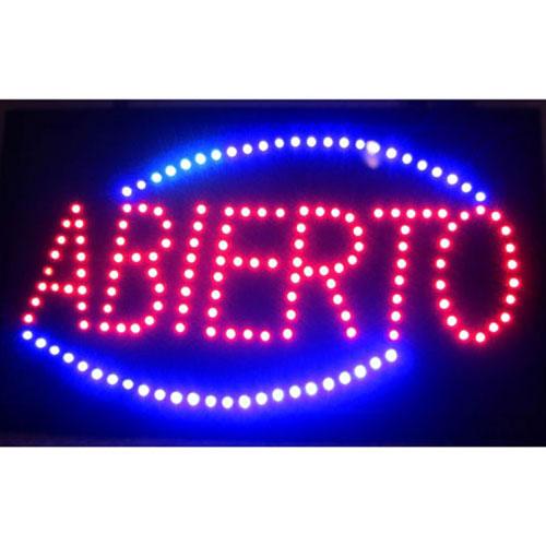 Neonetics Abierto LED Sign