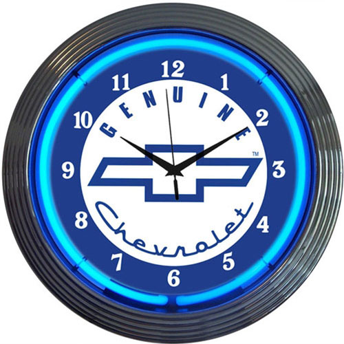 Neonetics GM Genuine Chevrolet Neon Clock