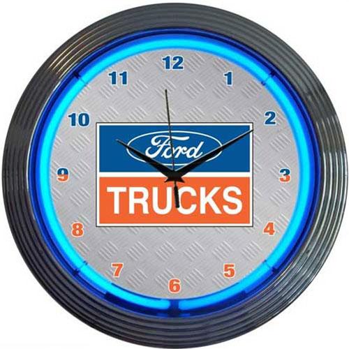 Neonetics Ford Trucks Neon Clock