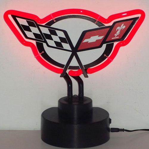 Neonetics Corvette C5 Neon Sculpture - 4CORC5