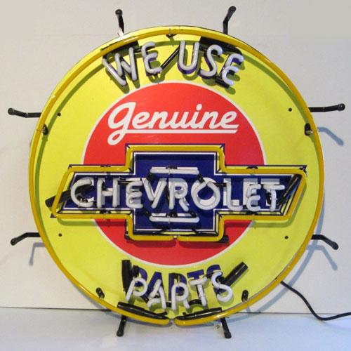 Neonetics Chevrolet Neon Sign with Silkscreen Backing - 5CHVBK