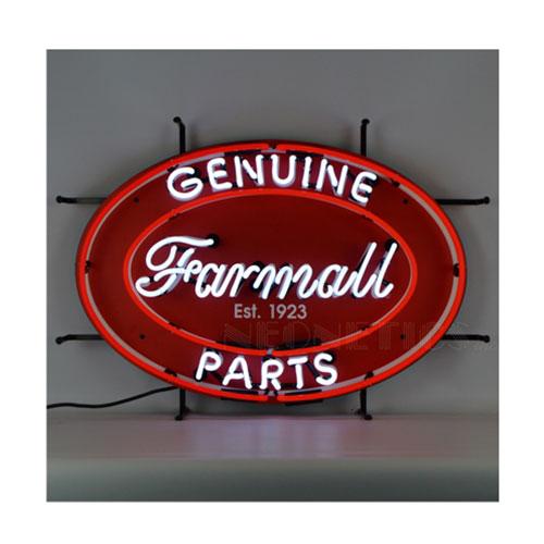 Neonetics Farmall Genuine Parts Oval Neon Sign - 5CaseO