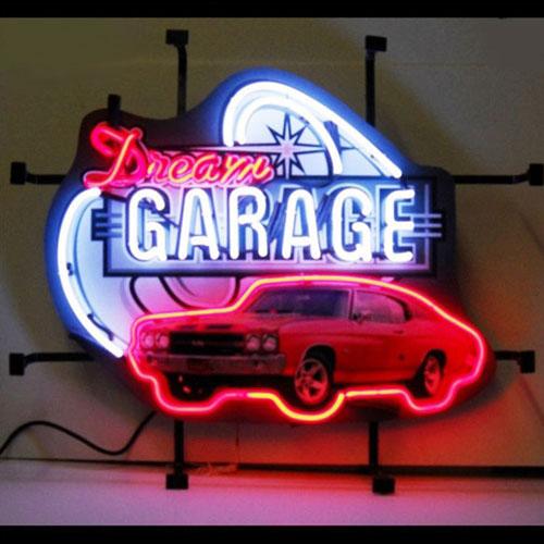 Neonetics Dream Garage GM Chevy Chevelle SS Neon Sign - 5DGCHV
