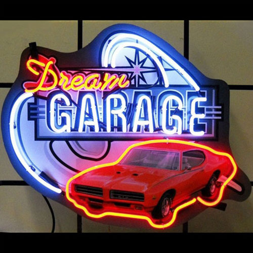 Neonetics Dream Garage GM GTO Neon Sign - 5DGGTO
