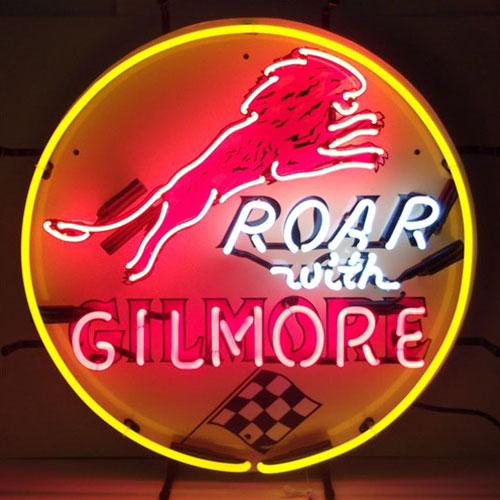 Neonetics Gilmore Gasoline Neon Sign - 5GSGIL