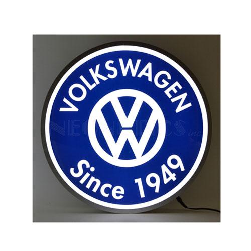 Neonetics Volkswagen Since 1949 Backlit LED Lighted Sign - 7VWSGN