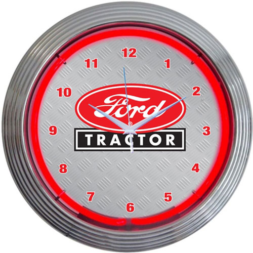 Neonetics Ford Tractor Neon Clock - 8FTRCT