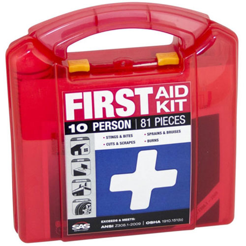 SAS 10-Person First-Aid Kit - 6010
