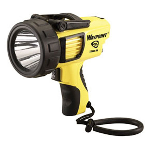 Streamlight Waypoint® Lithium Ion Rechargeable Pistol Grip Spotlight, 120V AC