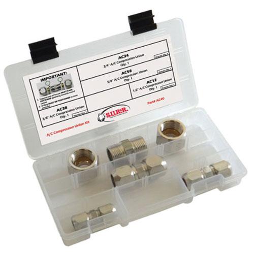 SUR&R A/C Compression Union Kit - AC40