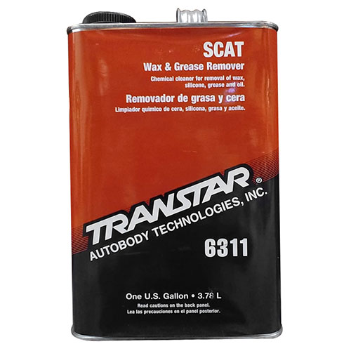 Transtar SCAT Wax & Grease Remover, Gallon - 6311