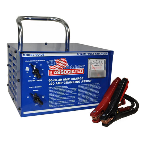 Associated Equipment Heavy Duty Commercial Portable Battery Charger - ASO-6010B