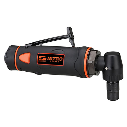 """Dynabrade NITRO SERIES 14,000 rpm Right Angle Die Grinder, 1/4"""" Collet - DGR51"""