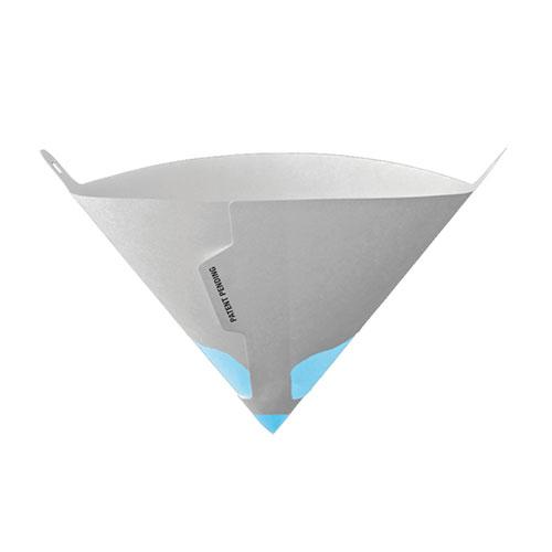 Gerson Blue Elite Paint Strainer, 125 Micron Synthetic Filter, 500/CS - 010914B