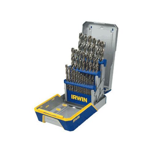 Irwin Cobalt M-42 Metal Index 29 Piece Drill Bit Set - 3018002B