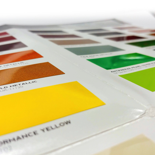 Kirker Paint Sample Color Chips