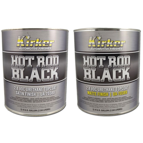 Kirker Hot Rod Black Urethane