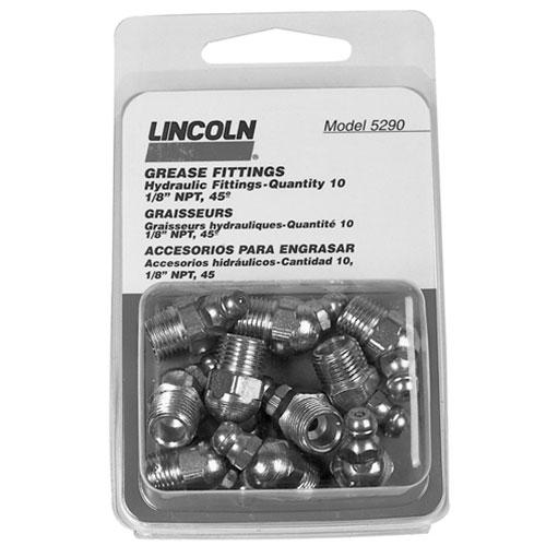 "Lincoln 1/8"" NPT 45° Angle Fitting - 5290"