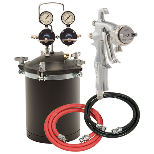 Sharpe 2.5 Gallon Pressure Pot HVLP Painting Systems