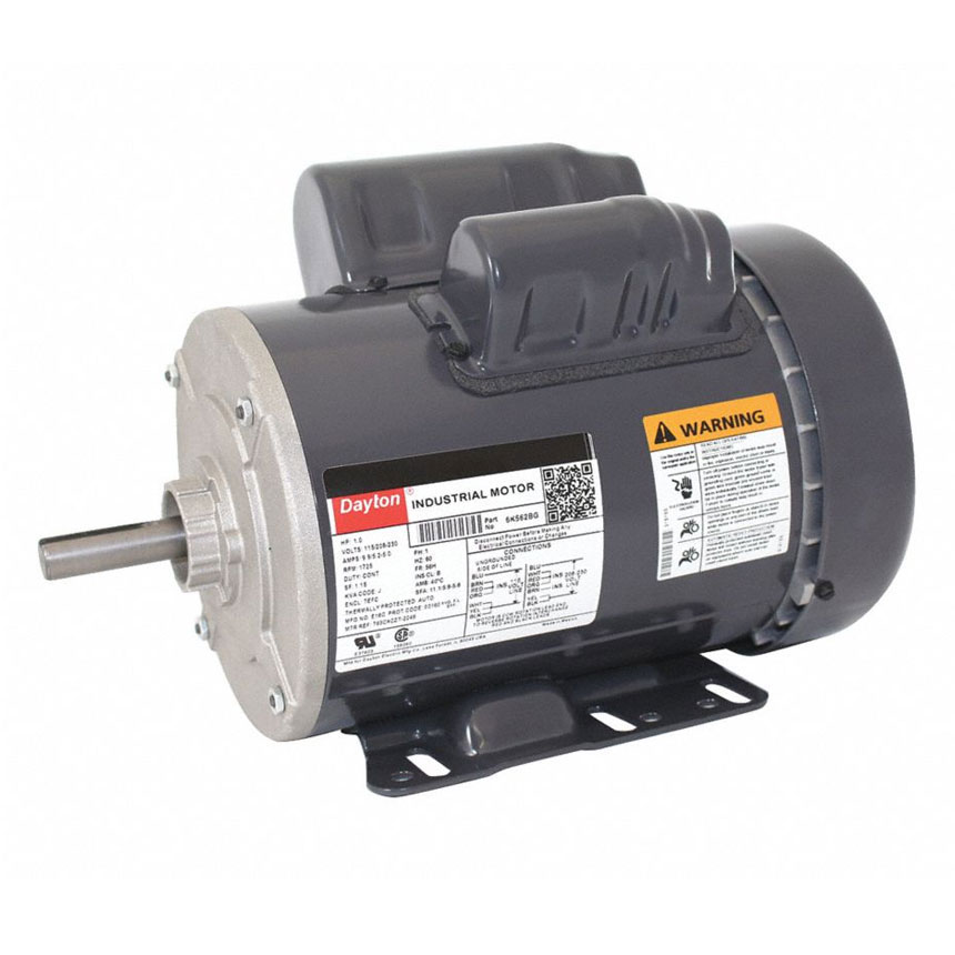 dayton electric motor 115 230v single phase wiring dayton fan motor  1hp  1725rpm  1 phase paint booth fans  dayton fan motor  1hp  1725rpm  1 phase