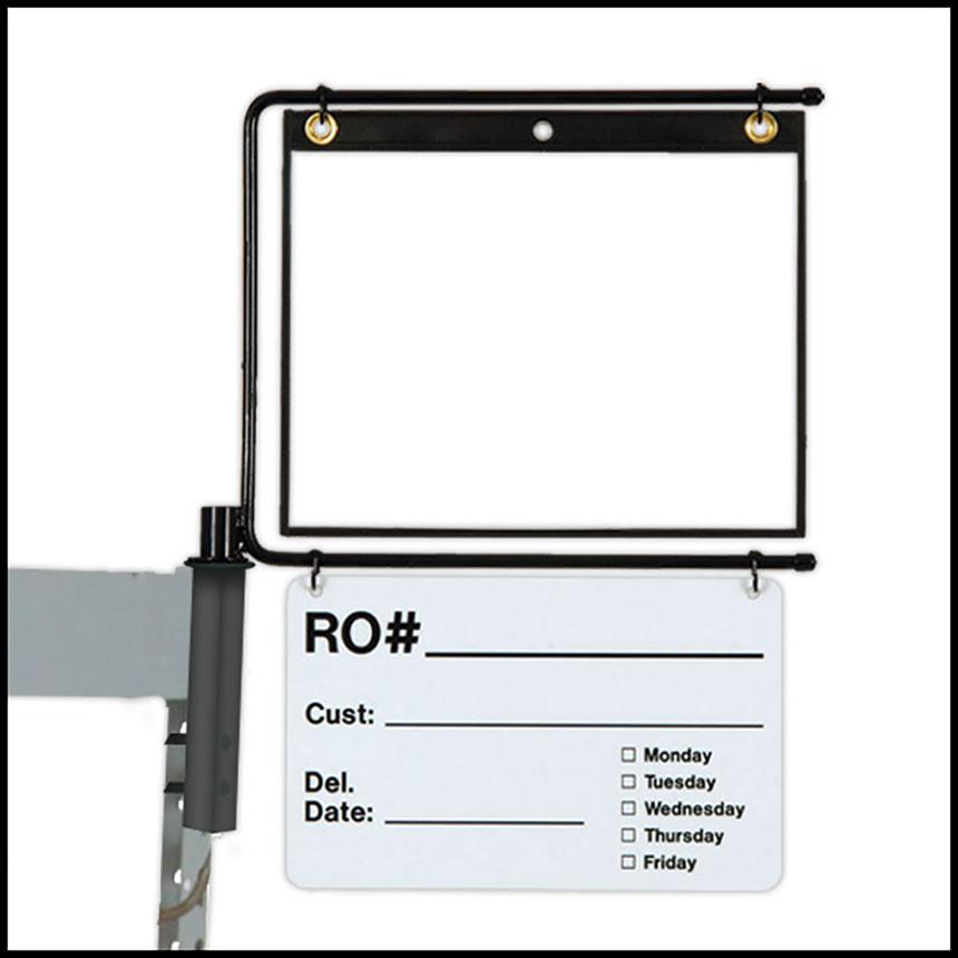 PROLific Original Parts Caddy Repair Order Holder with Dry Erase Kit