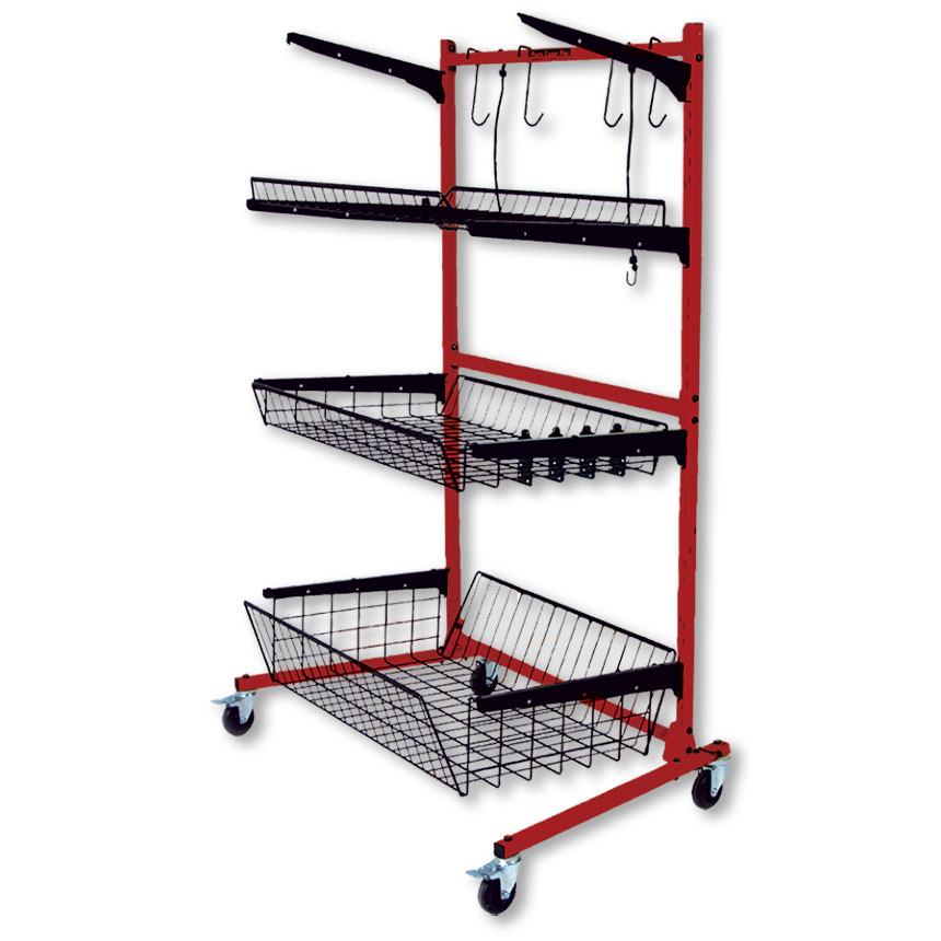PROLific Parts Caddy PRO with Variable Depth Shelves