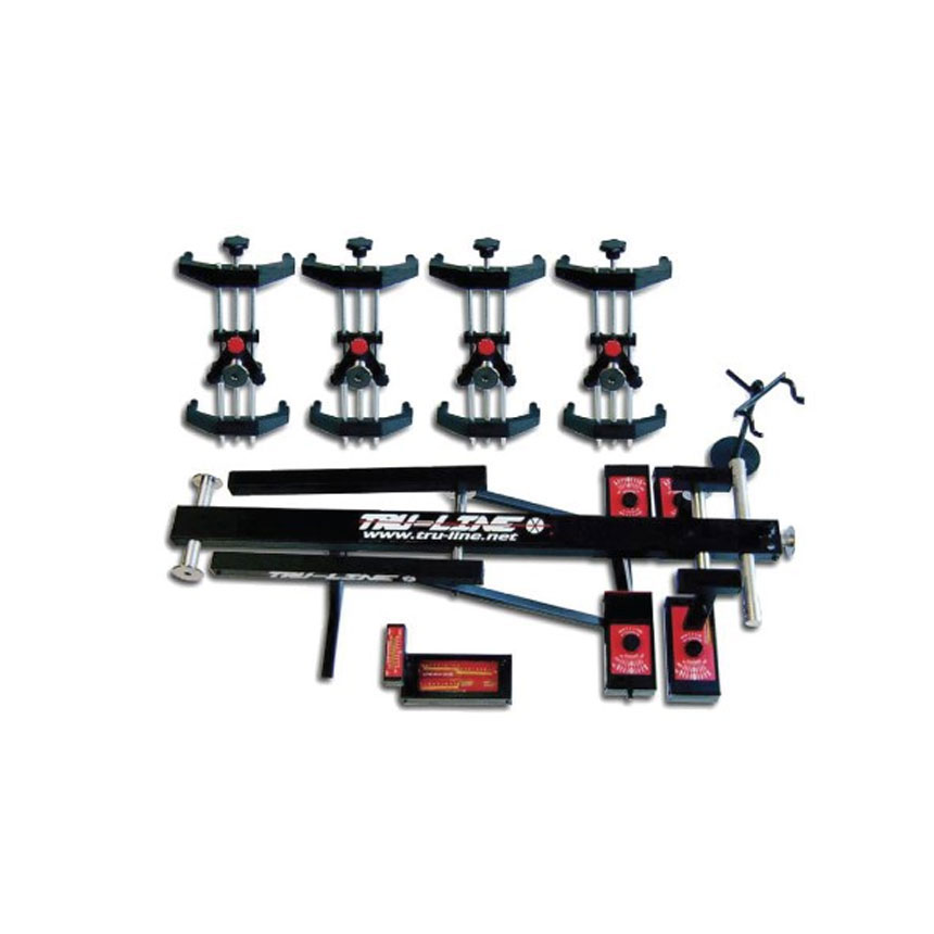 Tru-Line Laser Guided 4 Wheel Alignment System