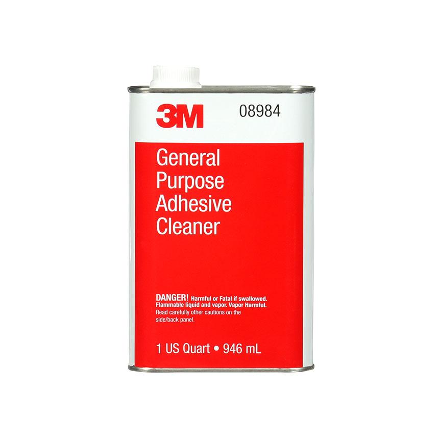3M General Purpose Adhesive Cleaner - 1 Quart - 08984