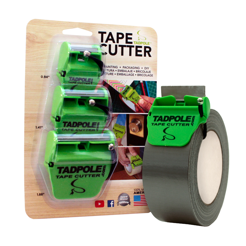 Tadpole Tape Cutters Pack of 3