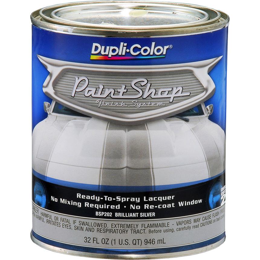 Dupli-Color Paint Shop Finishing System Brilliant Silver Paint - BSP202