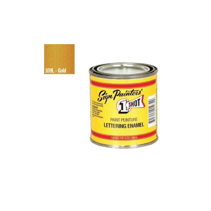 1 Shot Gold Lettering Enamel - 109