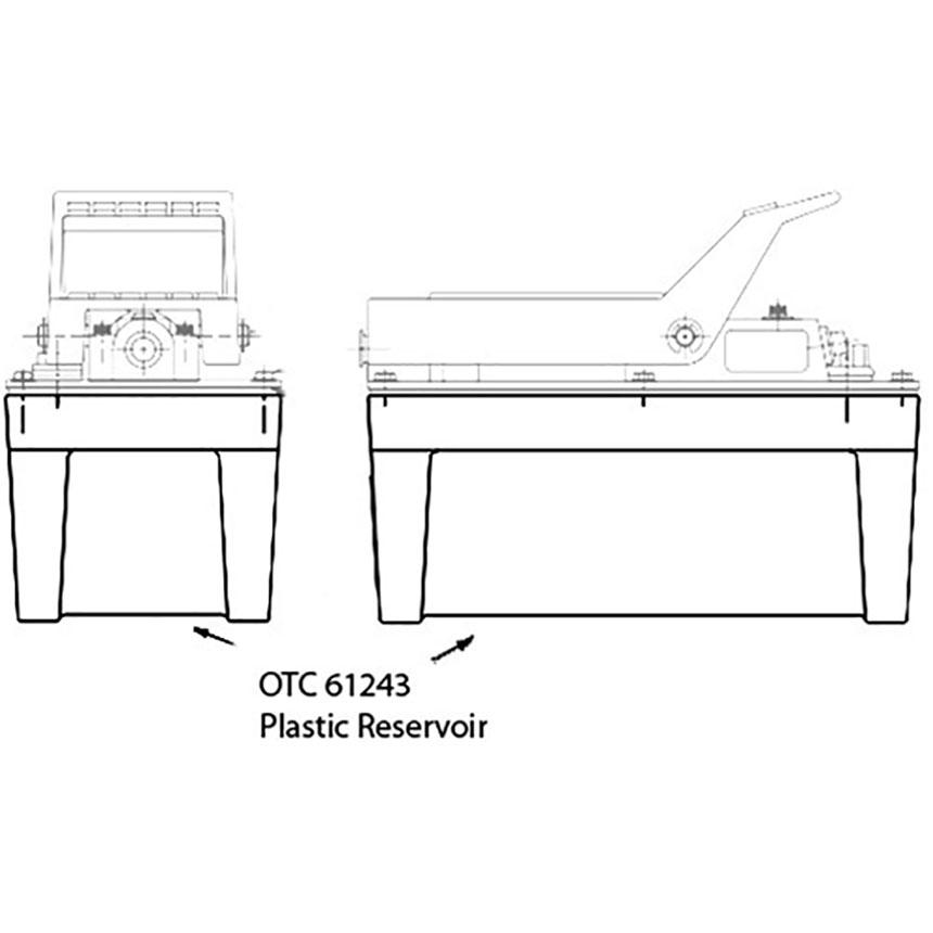 OTC OTC61243 Plastic Reservoir