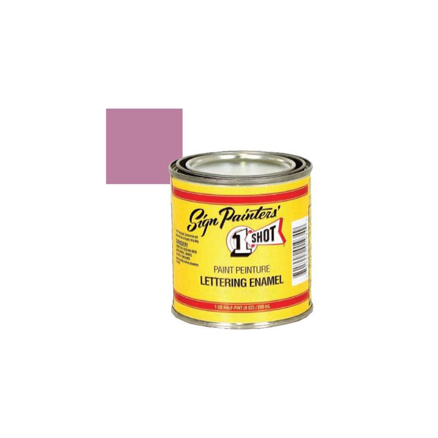 1 Shot Violet Lettering Paint, 1/4 Pint - 160L