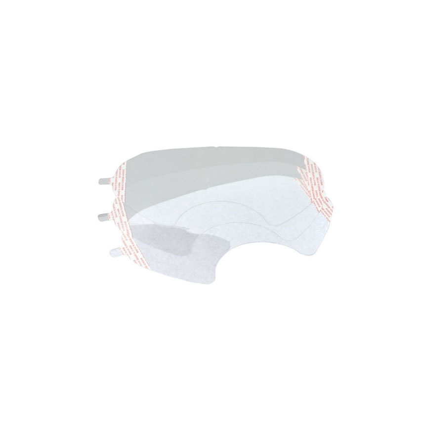 3M Peel Off Lens Covers for 1790 Full Face Respirator - 07142