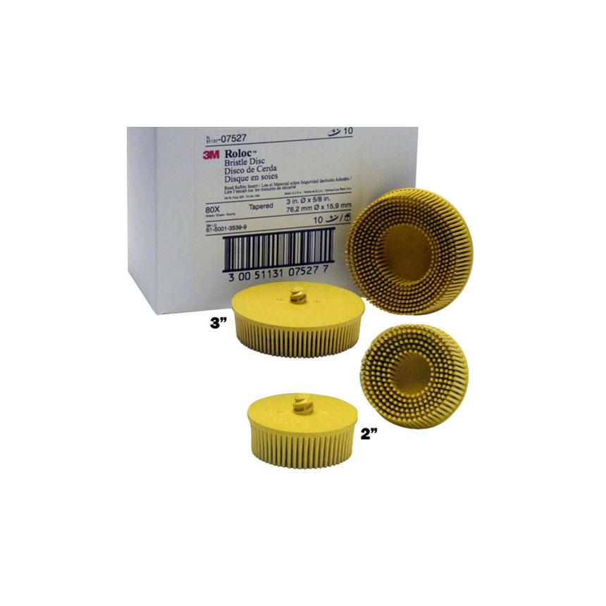 3M Scotch-Brite Roloc Bristle Discs