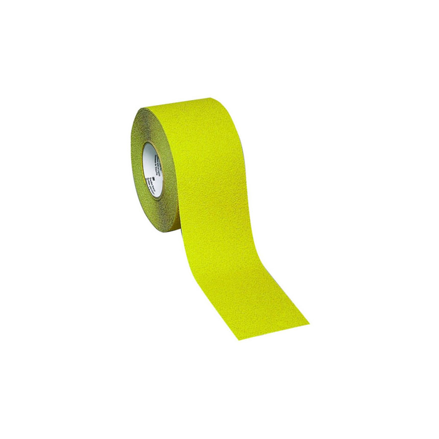 """3M Safety-Walk Slip-Resistant Conformable Tape, 2"""" Safety Yellow - 19288"""