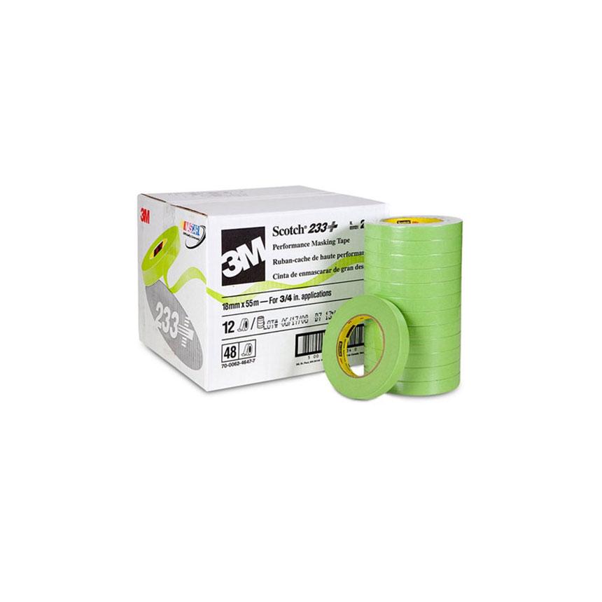 3M Scotch Performance Green Masking Tape 233+