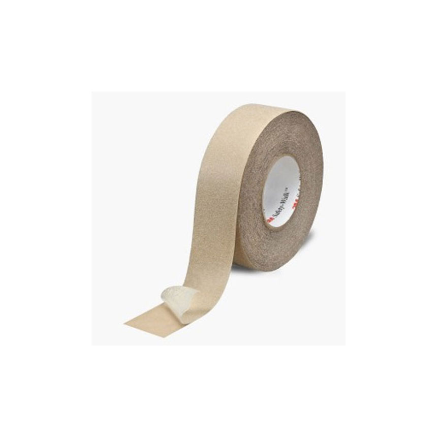 """3M Safety-Walk Slip-Resistant General Purpose Tapes and Treads 620, 4"""" x 60ft Roll, Clear - 26418"""