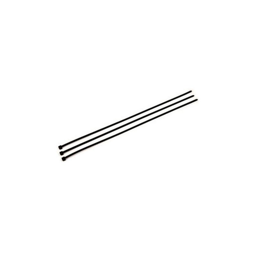 3M Light Heavy Duty Cable Tie, Black/Nylon, 120 lbs. Tensil Strength, 100 per bag - 59312