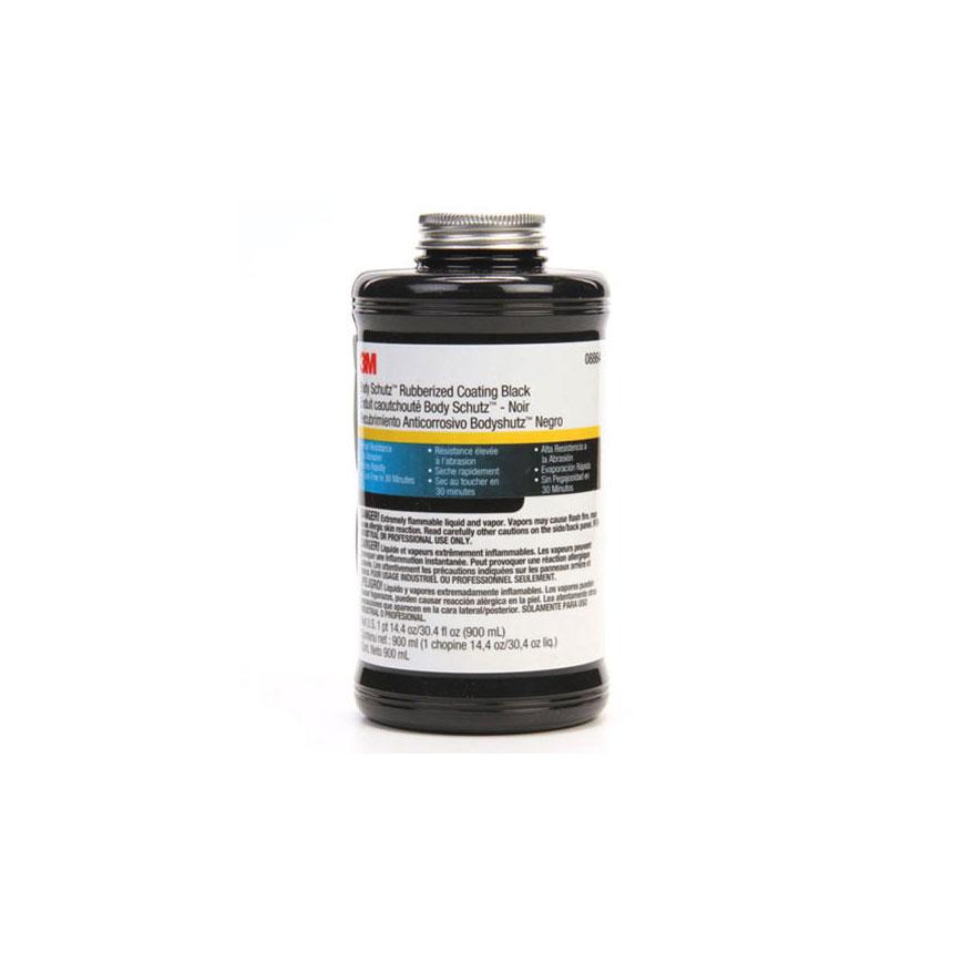 3M Body Schutz Rubberized Coating Black - 08864