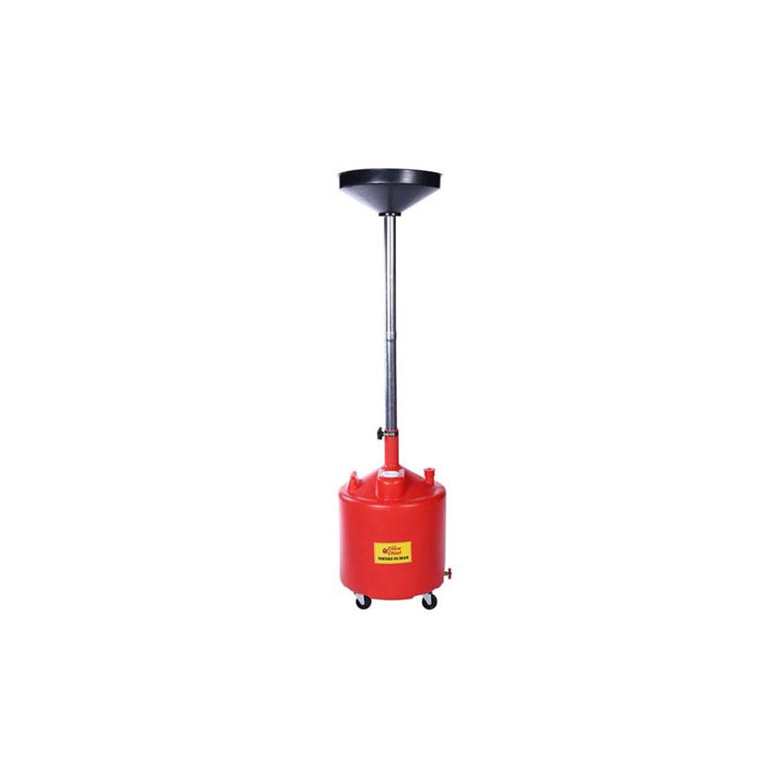 18-Gallon Portable Poly Oil Drain