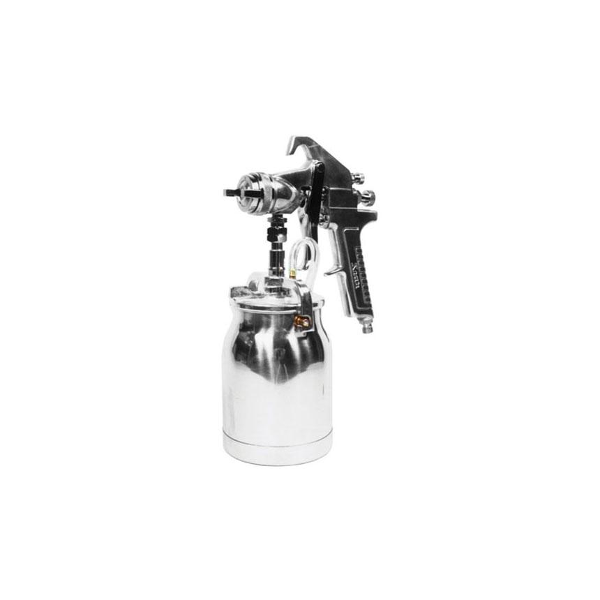 Astro Pneumatic 1.7 mm Nozzle Spray Gun with Silver Handle & Cup - AS8S