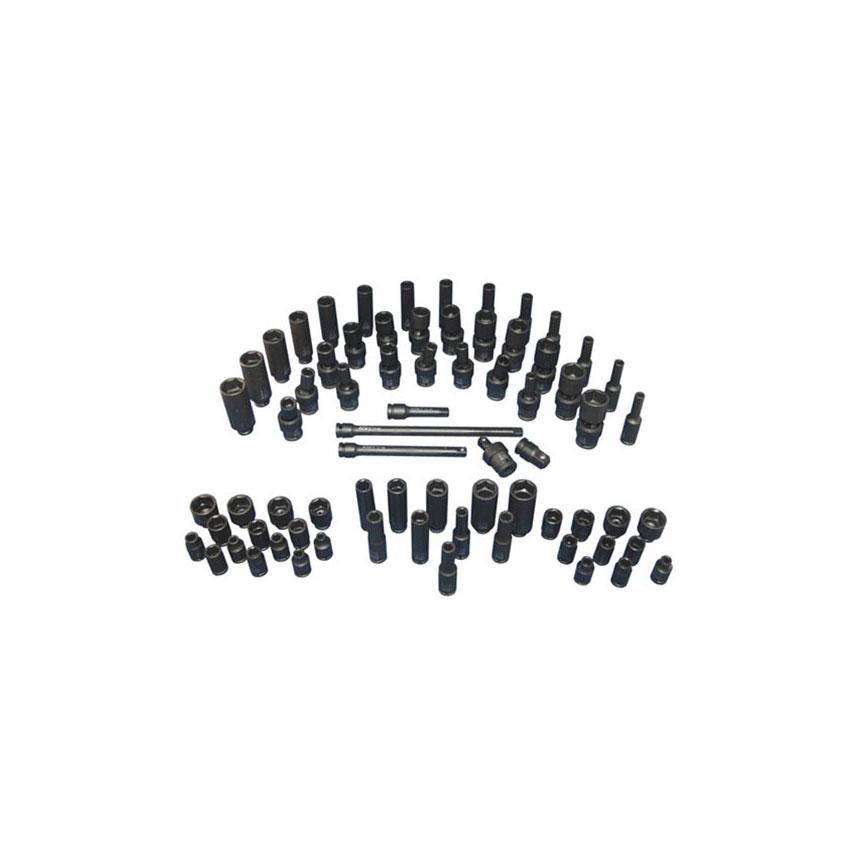"ATD Tools 2271 1//4/"" Drive SAE and Metric Impact Socket Set"