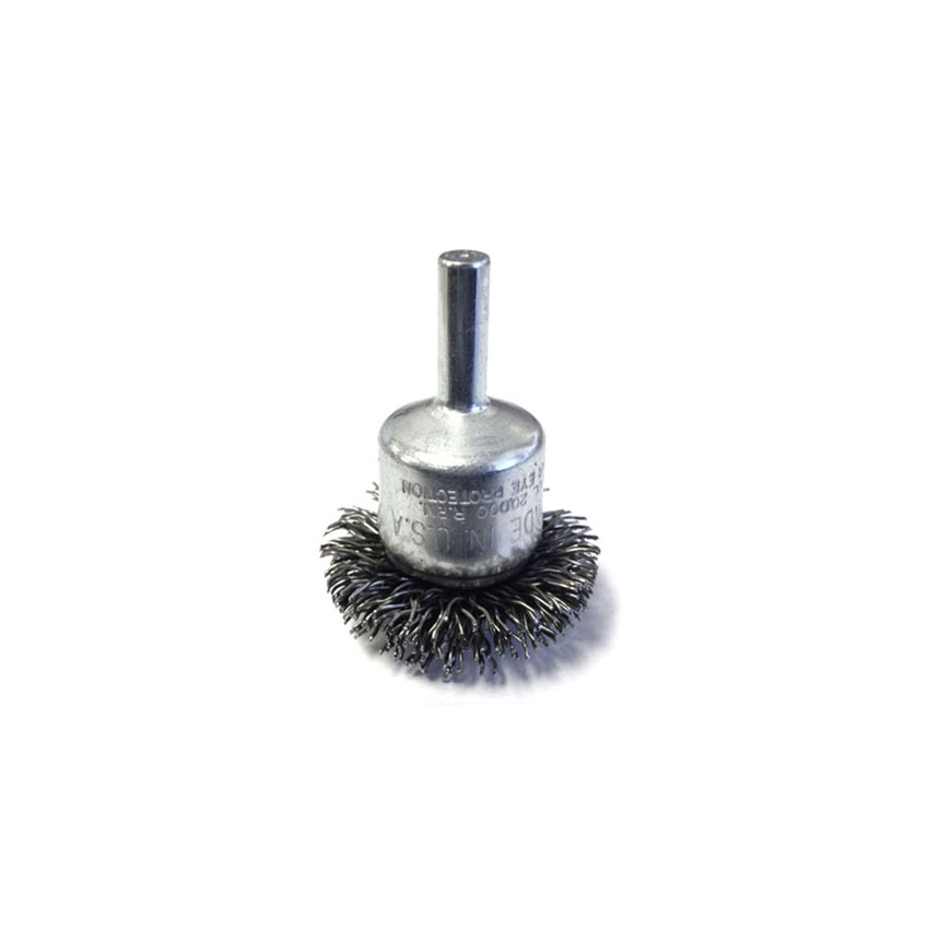 """ATD Tools 1-1/2"""" Circular Flared Crimped Wire End Brush - 8255"""